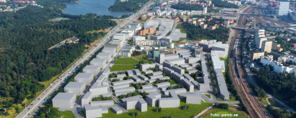 Översiktsbild Distansen från peab.se