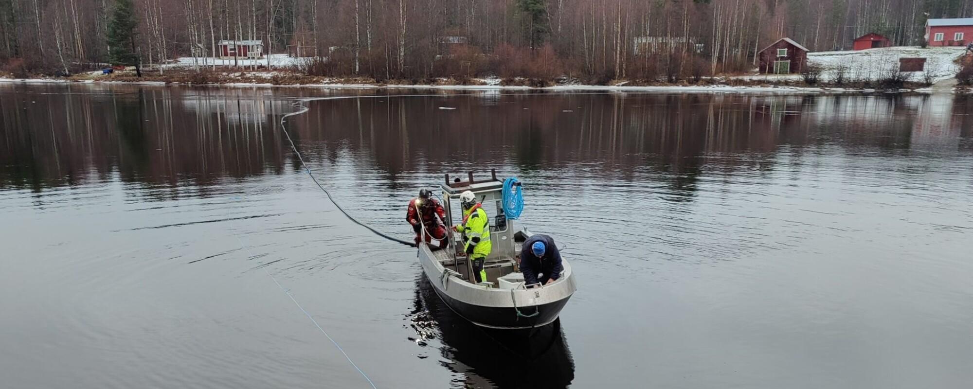 Tre män i en båt - Junsele edition