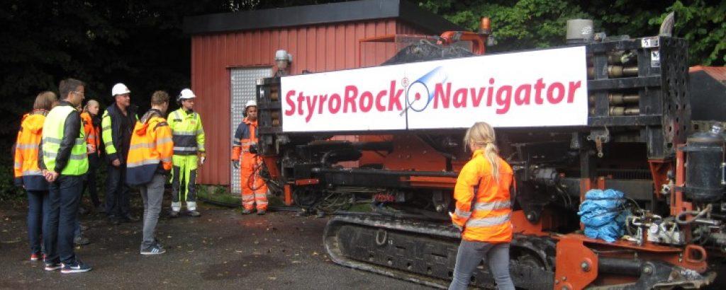 StyroRock - borriggen för styrd borrning i berg