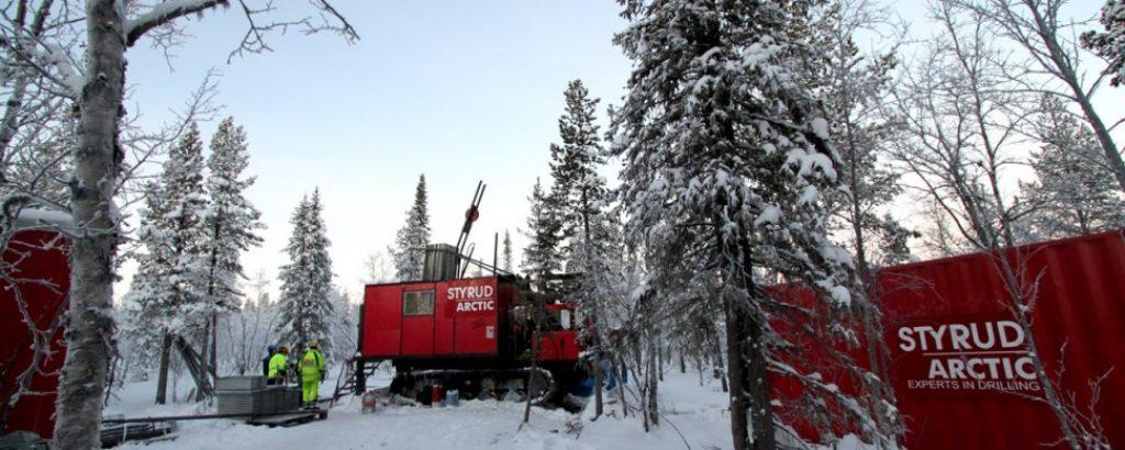 Styrud Arctics arbetsplats Lappmalmen