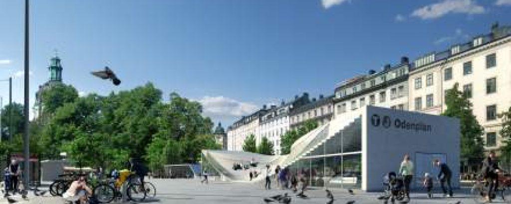Ny station på Odenplan